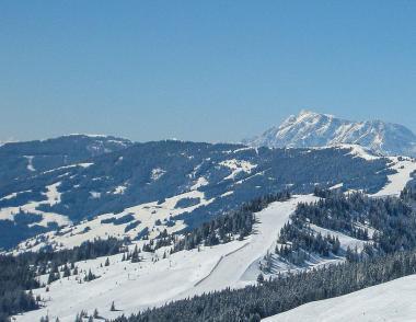 Zimní Saalbach Hinterglemm Leogang