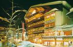 Rakouský hotel Berger's Sporthotel v zimě