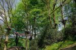Lanová dráha Hochseilgarten u Saalbachu