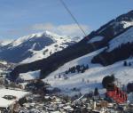 Lanovka ve skiareálu Saalbach