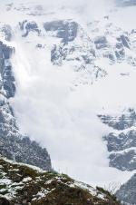 Lavina na horách
